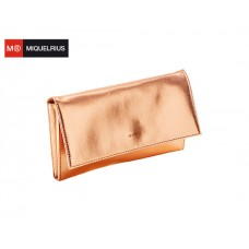 MIQUELRIUS ΠΟΡΤΟΦΟΛΙ ΤΑΞΙΔΙΟΥ 25x15x2cm MR MINERAL COPPER LEATHER LOOK