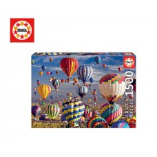EDUCA ΠΑΖΛ 1500Τ 85x60cm HOT AIR BALLOONS
