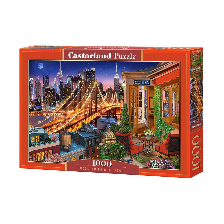 C-104598 Brooklyn Bridge Lights Puzzle 1000