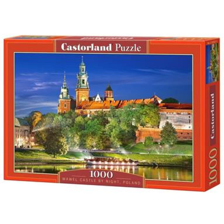CASTORLAND ΠΑΖΛ 1000ΤΕΜ. C-103027-2 WAWEL CASTLE BY NIGHT, POLAND