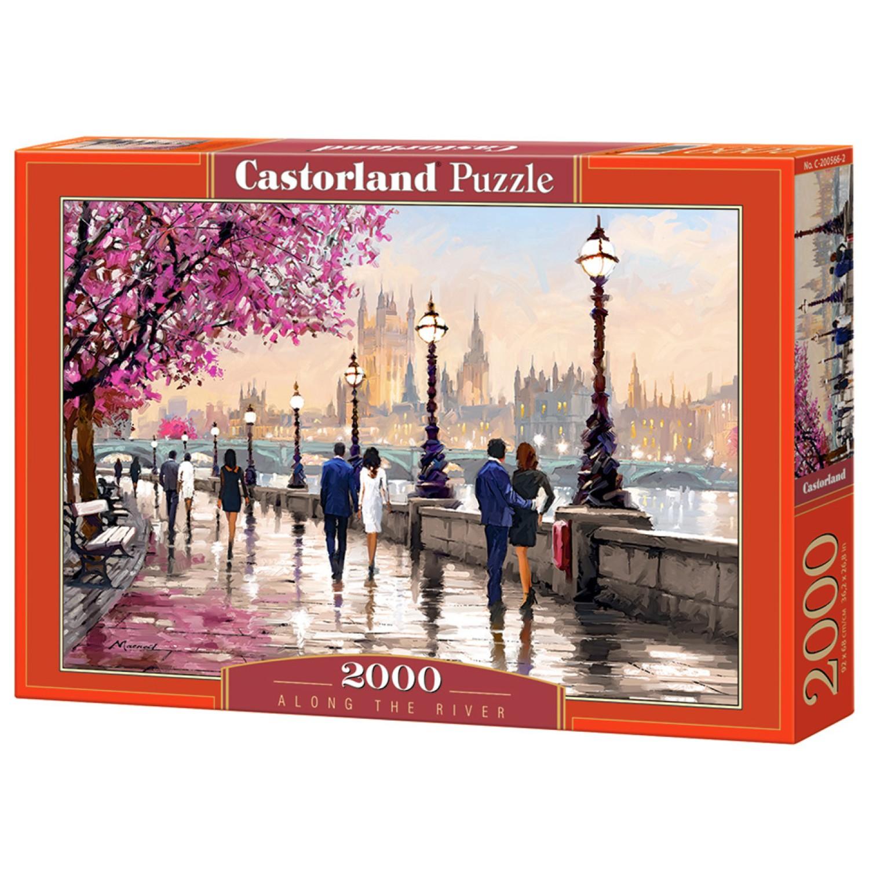 Castorland 200566 Along the River 2000 pieces