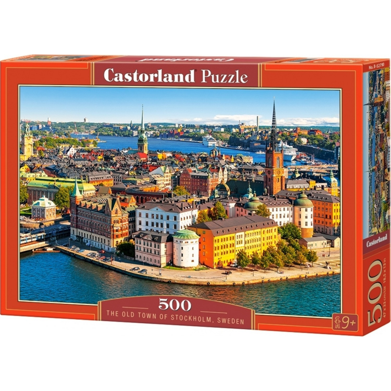 The Old Town Of Stockholm Sweden 500pcs (B-52790) Castorland