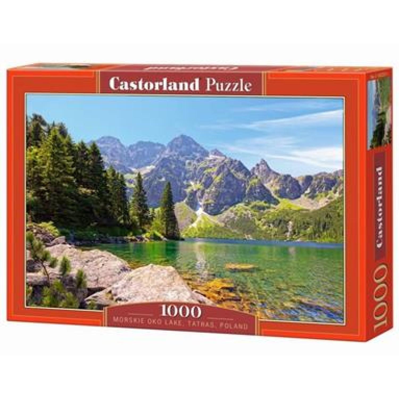 CASTORLAND ΠΑΖΛ 1000ΤΕΜ. C-102235-2 MORSKIE OKO LAKE,TATRAS,POLAND