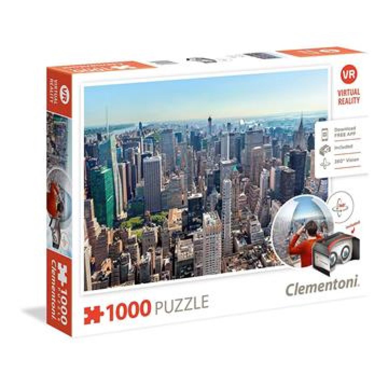 CLEMENTONI ΠΆΖΛ 1000ΤΕΜ. 39401 VIRTUAL REALITY:NEW YORK