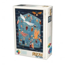Owl Tales 1000 piece jigsaw puzzle