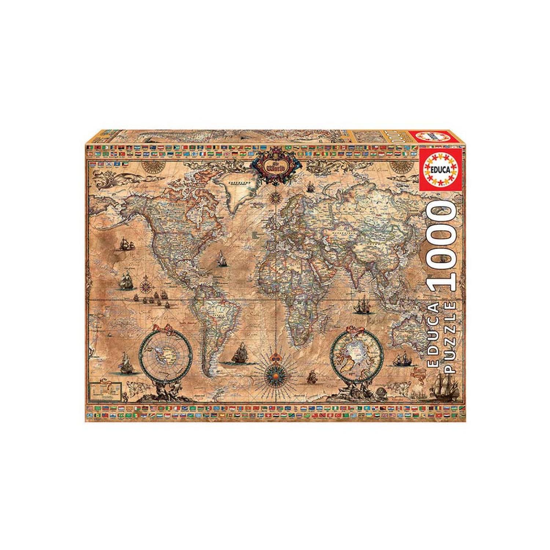 Παζλ 1000 MINIATURE POLITICAL MAP OF THE WORLD 16764