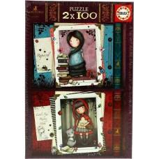 Little Red Riding Hood & Rapunzel 2x100pcs (17822) Educa