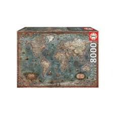 Παζλ 8000 HISTORICAL WORLD MAP 18017