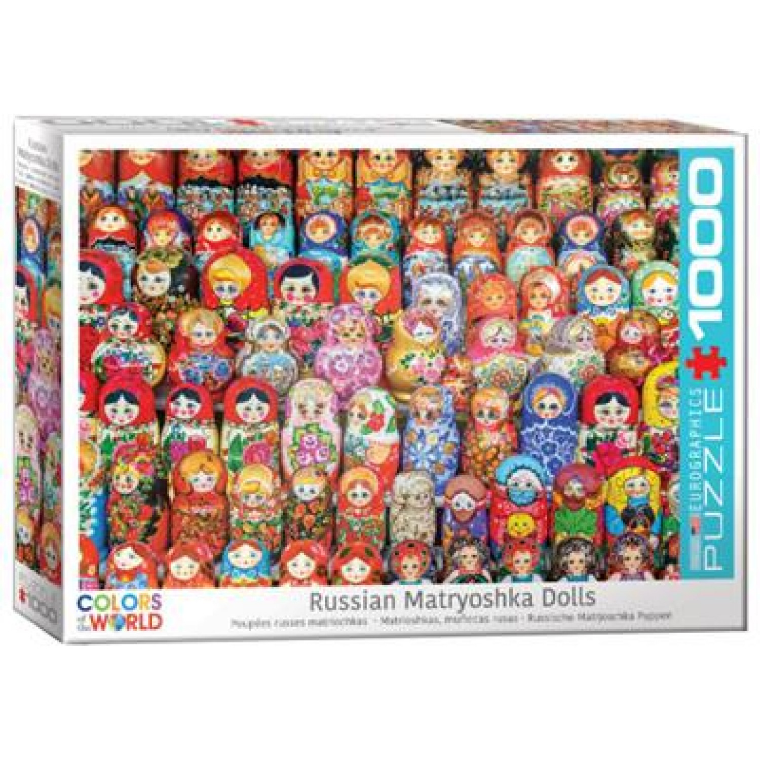EUROGRAPHICS ΠΆΖΛ 1000ΤΕΜ. 6000-5420 RUSSIAN MATRYOSHKA DOLLS - COLORS WORLD SERIES