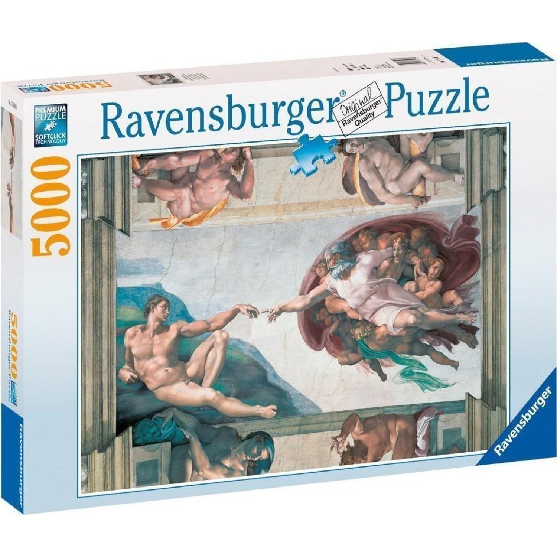 Michelangelo: Η Δημιουργία 5000 pcs Ravensburger