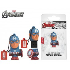 TRIBE FLASH DRIVE USB 3D CAPTAIN AMERICA 16GB