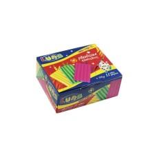 Πλαστελίνη 11 Χρώματα 500gr LUNA 39409