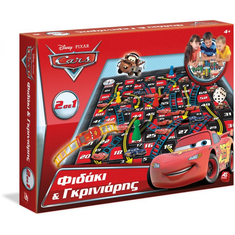 Επιτραπέζιο 2 Σε 1 Φιδάκι-Γκρινιάρης Cars 63625