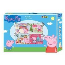 PUZZLE 4 ΣΕ 1 PEPPA PIG 30X40ΕΚ 482332