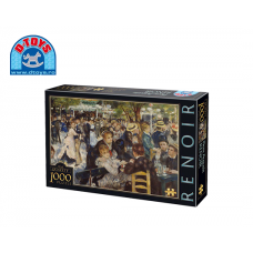 D-TOYS ΠΑΖΛ 1000Τ 68x47cm RENOIR DANCE AT THE MOULIN
