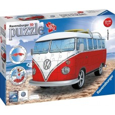 3D PUZZLES: VW BUS T1- (162ΤΕΜ) - 12516