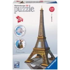 3D PUZZLE ΔΙΑΣΗΜΑ ΚΤΙΡΙΑ: AIFFEL TOWER (216 TEM) - 12556