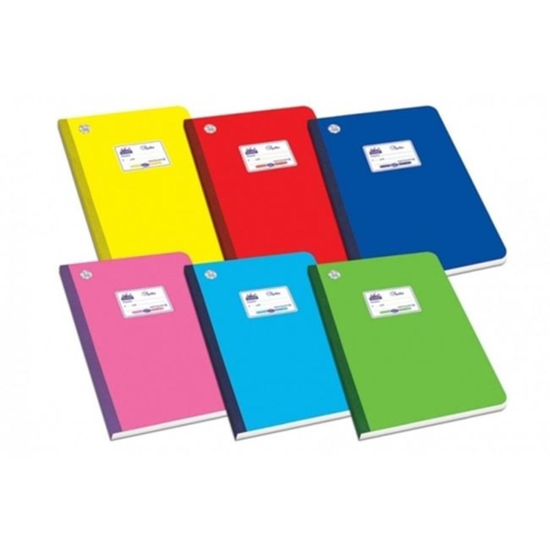 Τετράδιο Λινόδετο Διάφορα Χρώματα 60Φ 253055