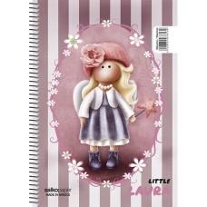 Τετράδιο Salko Σπιράλ Little Girl 17x25/60σελ. 1Θ 3761100