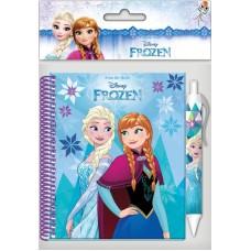 Frozen Σημειωματάριο 10x15cm Με Στυλό 561808