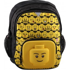 LEGO® BAGS 3D ΣΑΚΙΔΙΟ ΠΛΑΤΗΣ: MINIFIGURES HEADS-20073-1918